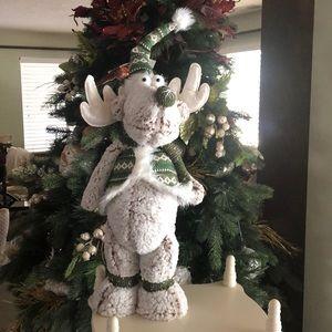 Holiday Christmas Moose Plush Snow Holiday Standing Poshmark